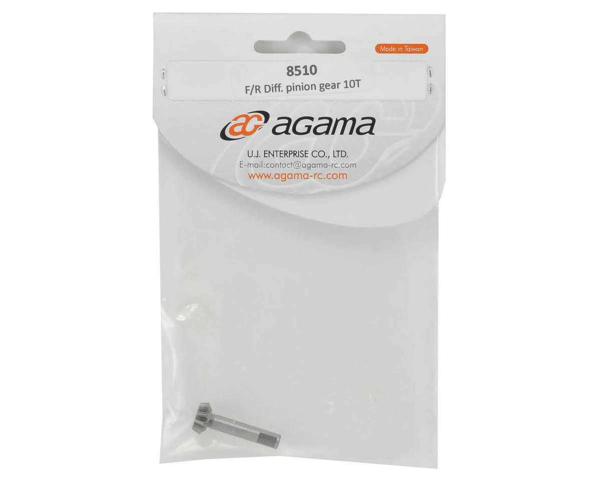 Agama Racing 10T Front/Rear Differential Pinion Gear (Use w/45T Ring Gears)