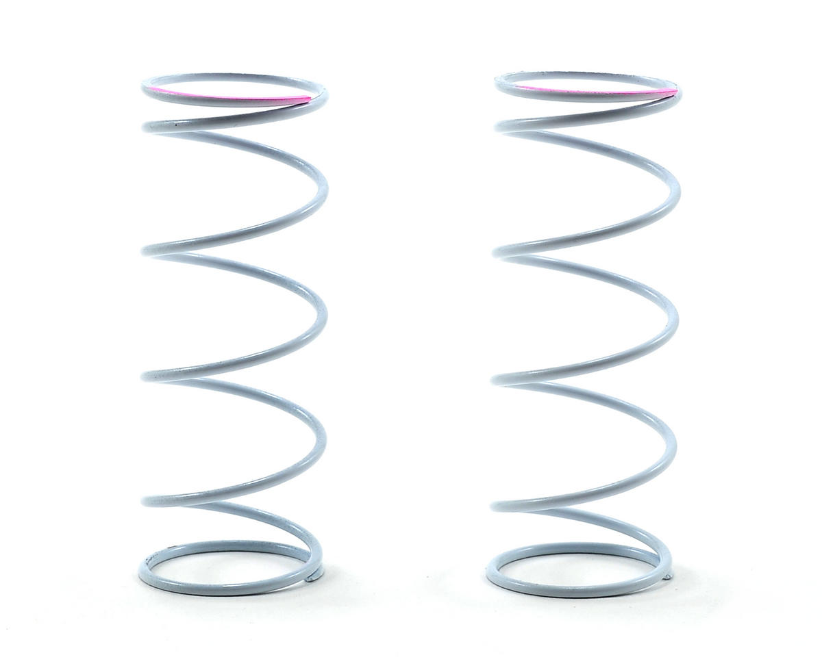 Agama Racing Front Shock Spring Set (White/Pink Dot)