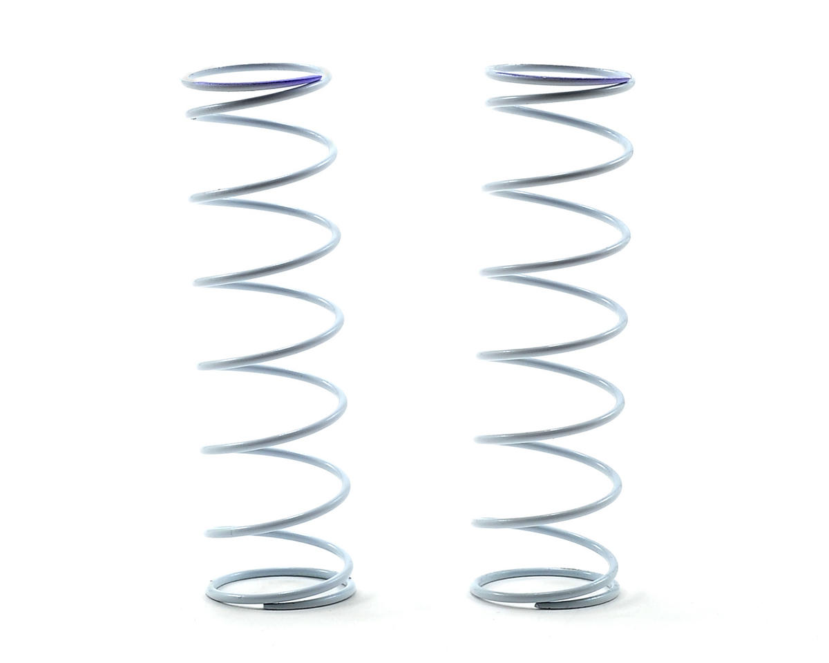 Agama Racing Rear Shock Spring Set (White/Purple Dot)