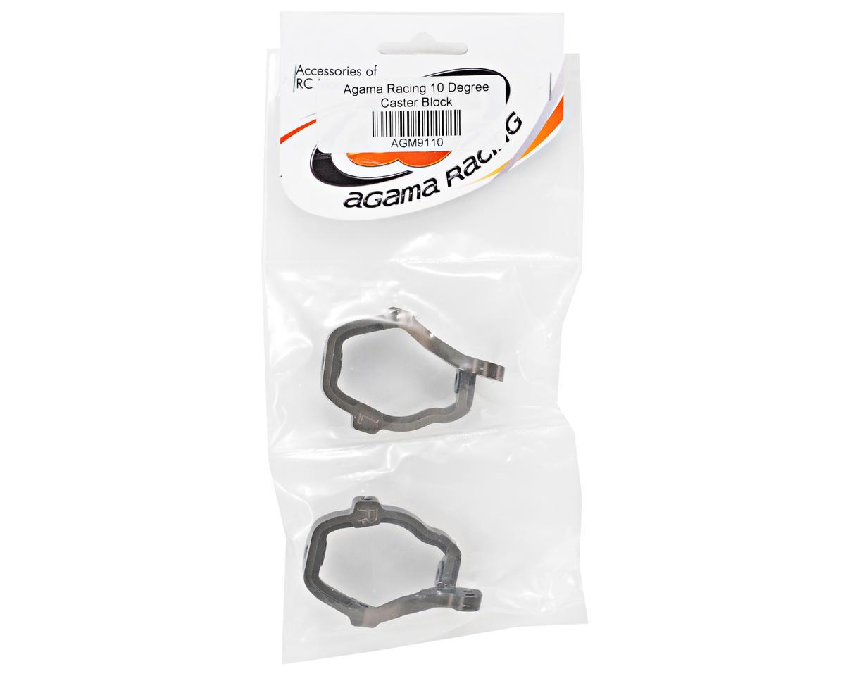 Agama Racing Aluminum 10° Caster Block Set