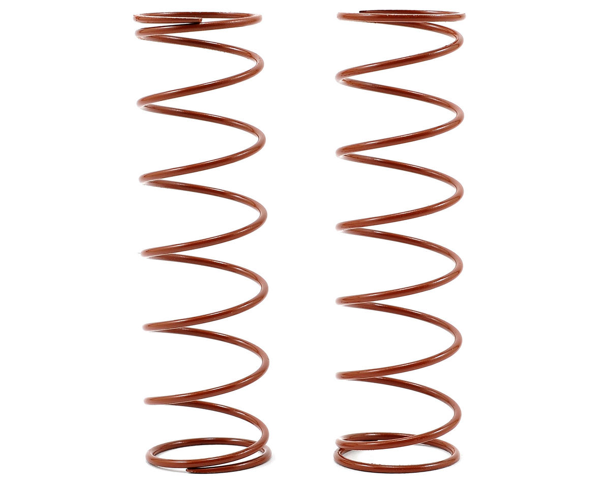 Agama Racing Rear Long Shock Spring (Brown/Medium) (2) (USA Edition)