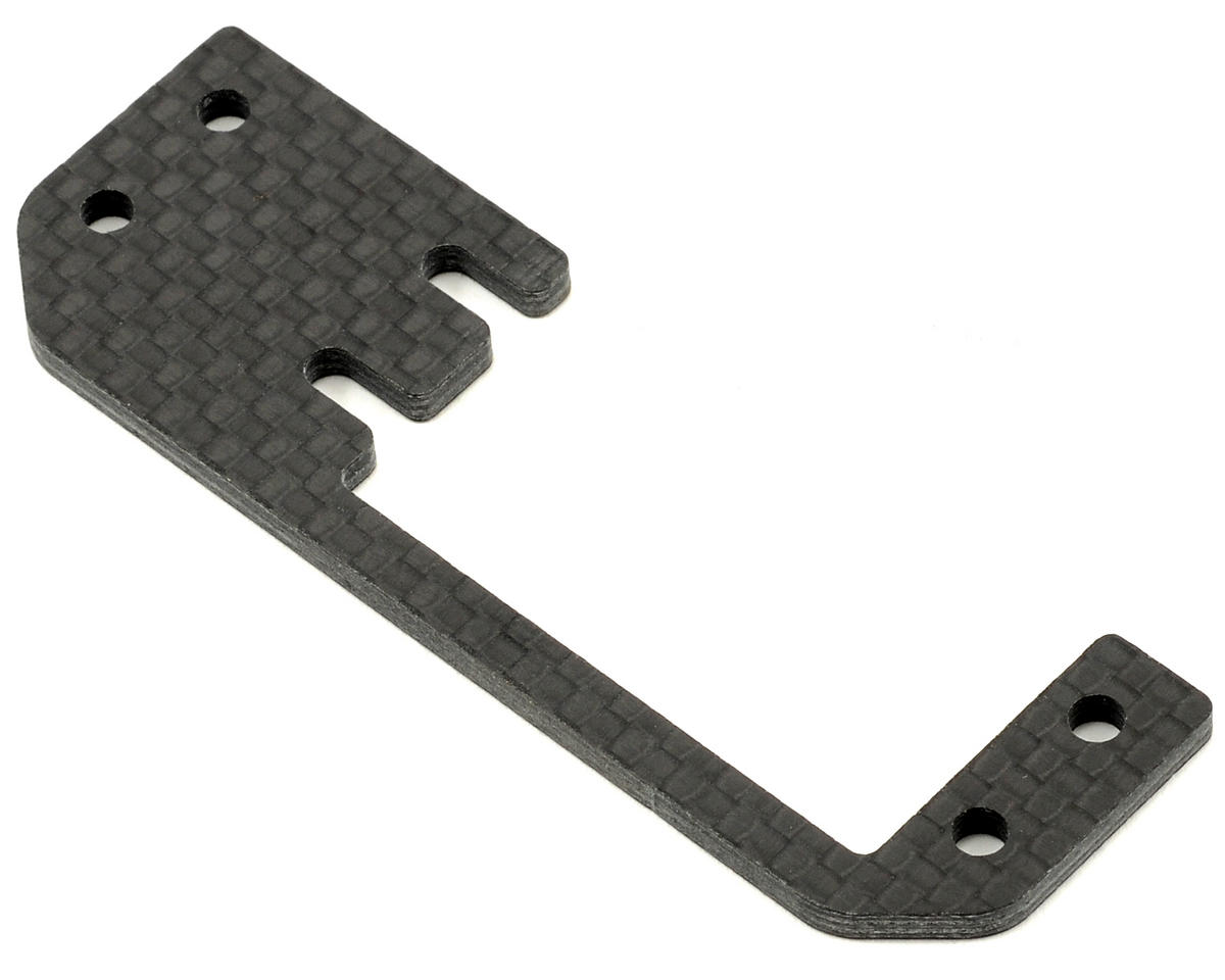 Carbon Fiber Throttle Servo Plate by Agama Racing