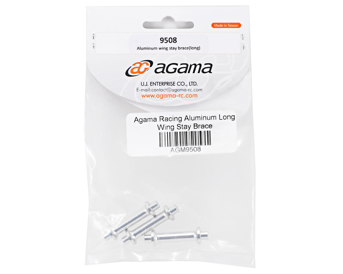 Agama Aluminum Long Wing Stay Brace Set (3)