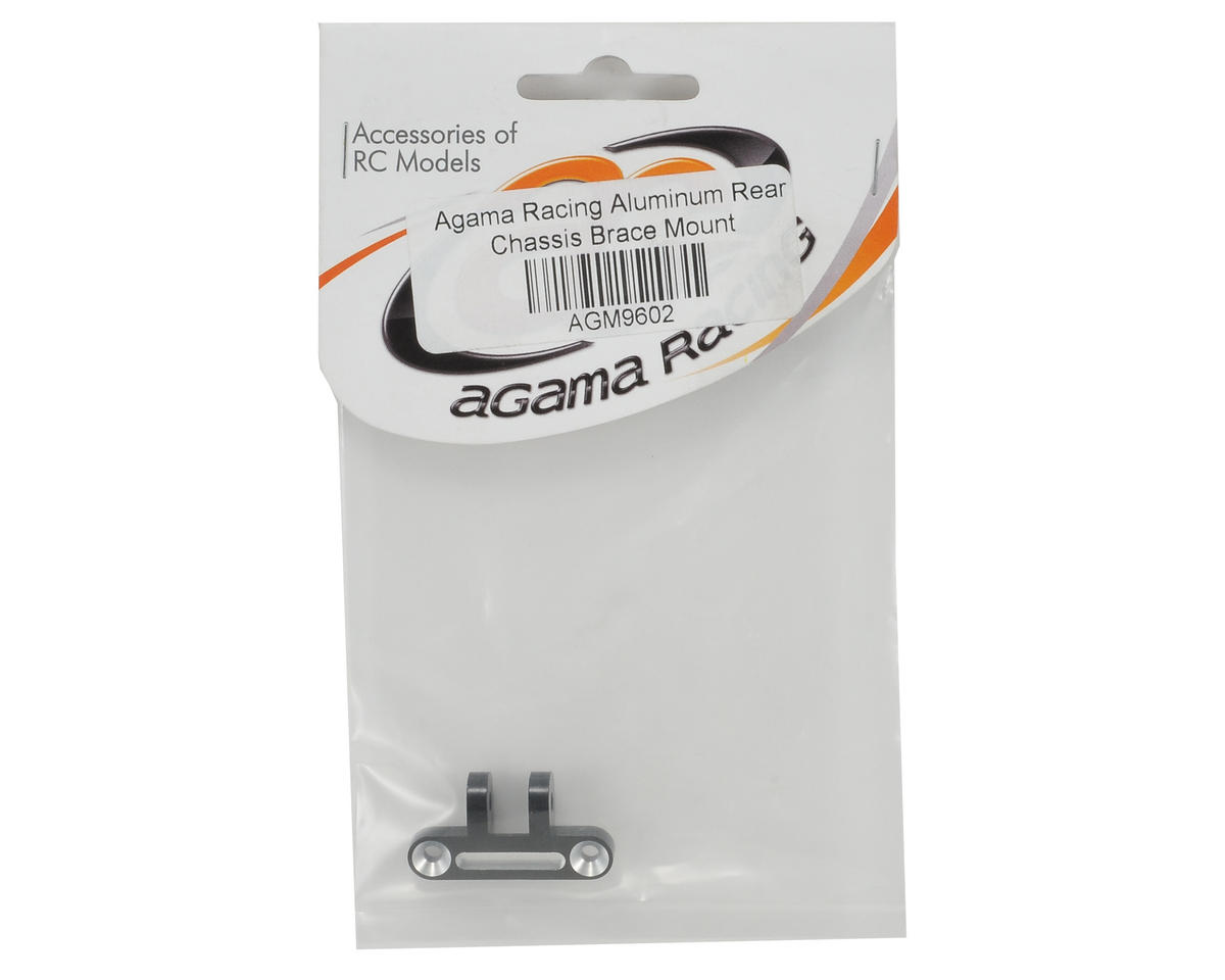 Agama Racing Aluminum Rear Chassis Brace Mount
