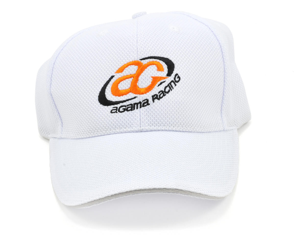 Agama Racing Adjustable Hat (White)