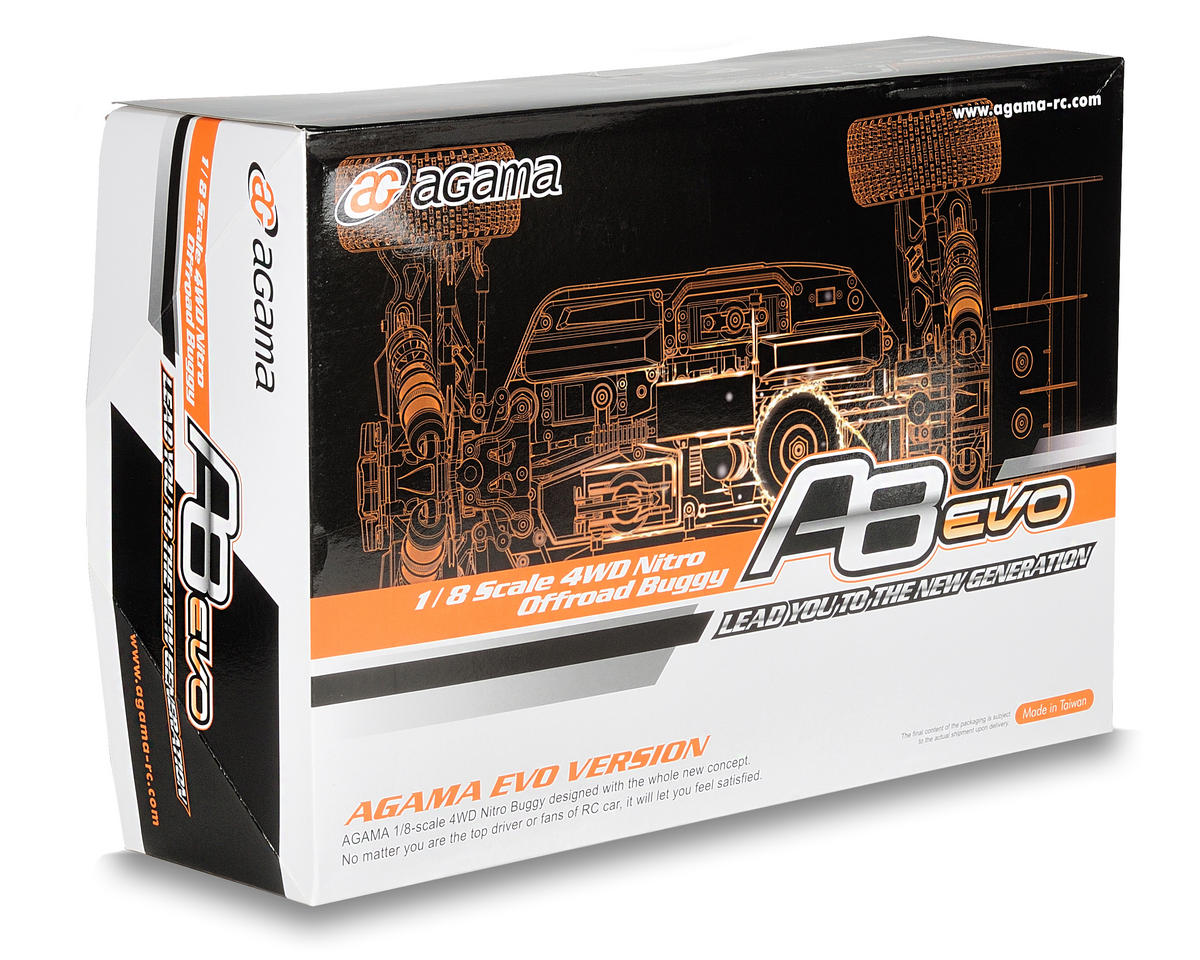 """Agama Racing A8 EVO """"2011 Edition"""" 4WD Competition Off-Road Buggy Kit"""