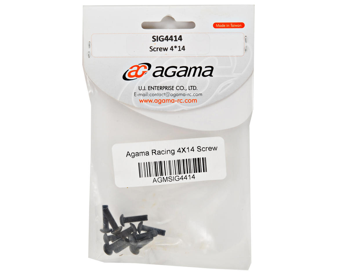 Agama Racing 4x14mm Button Head Screw (10)