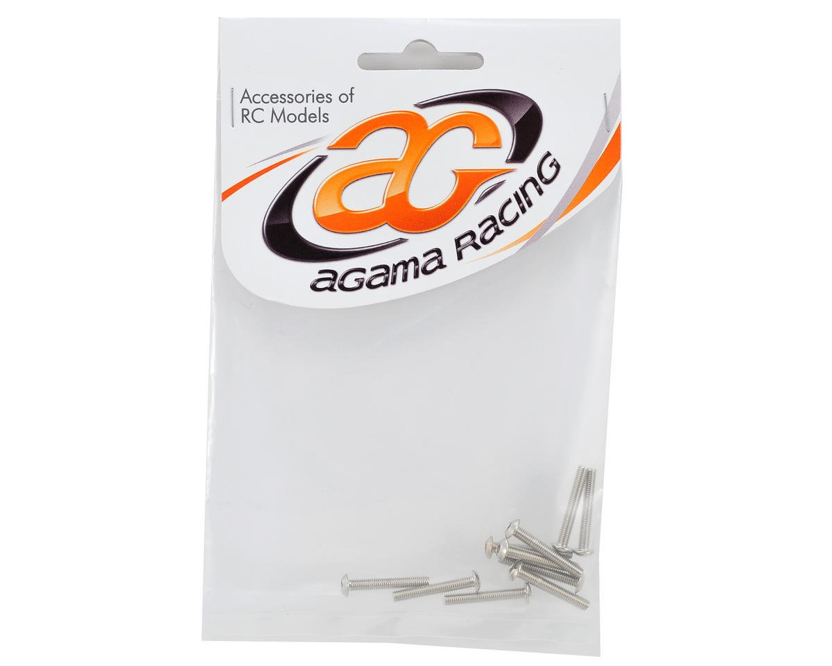 Agama Racing 3x20mm Left Hand Screw (10) (USA Edition)