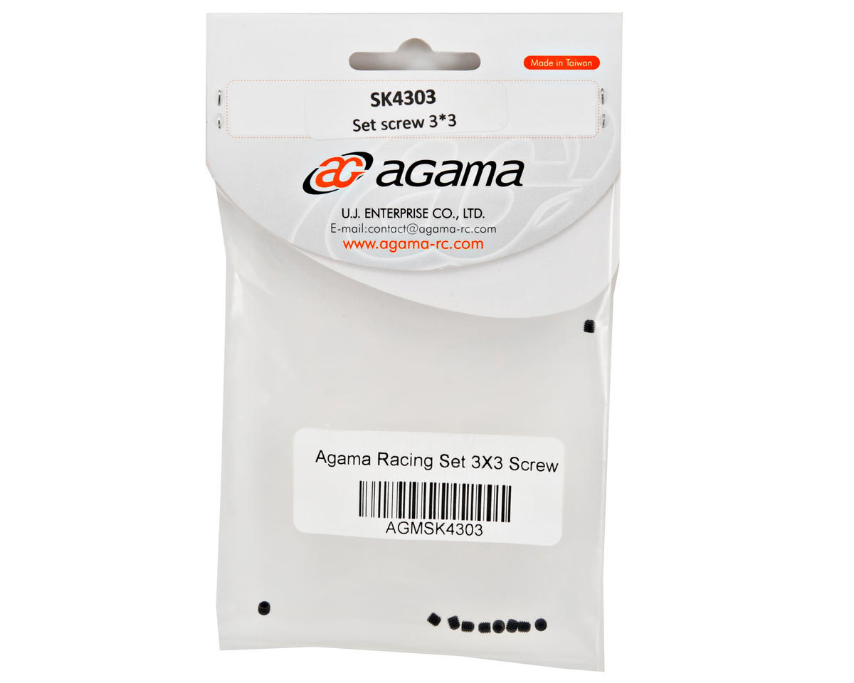 Agama Racing 3x3mm Set Screw (10)