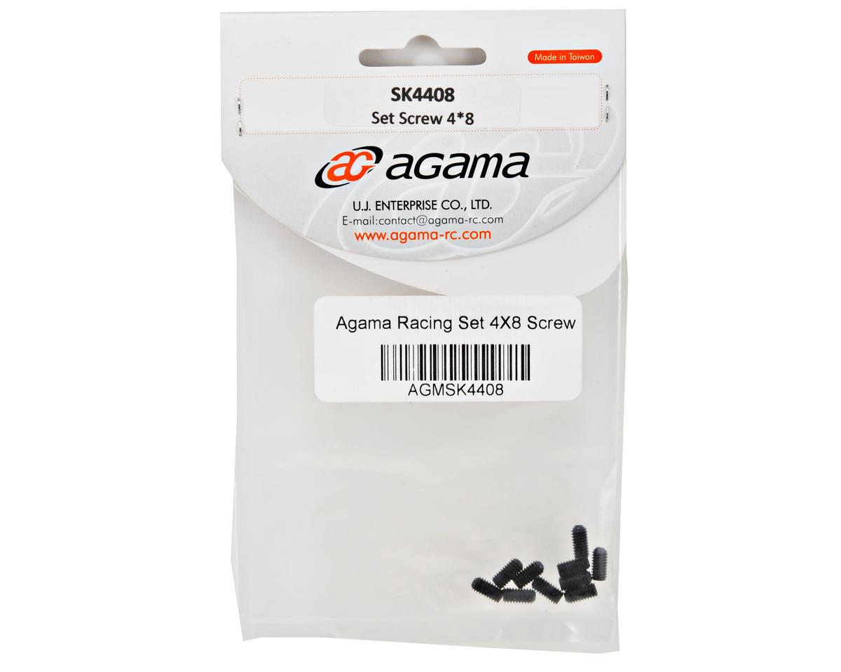 Agama Racing 4x8mm Set Screw (10)