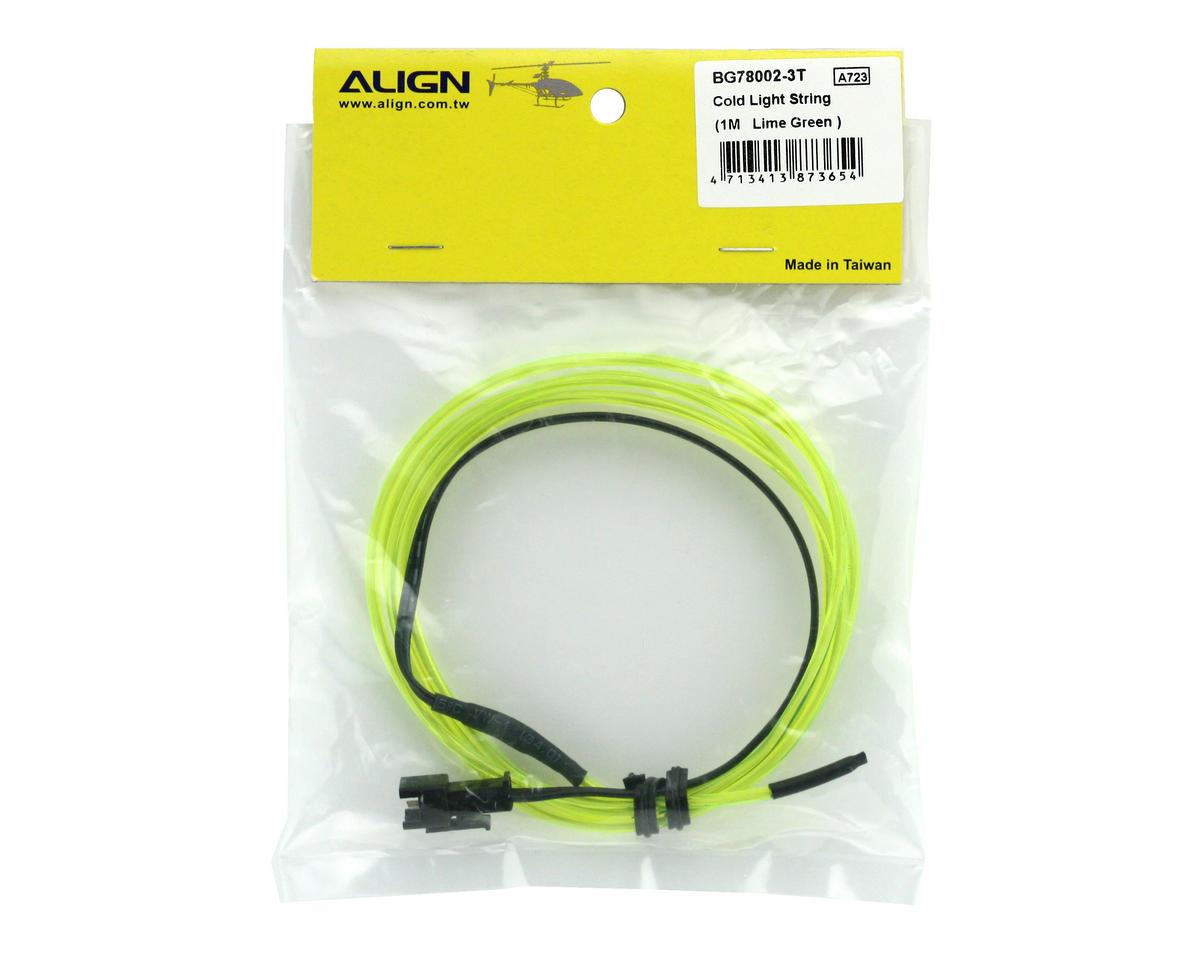 Align Cold Light String (1M) (Lime Green)