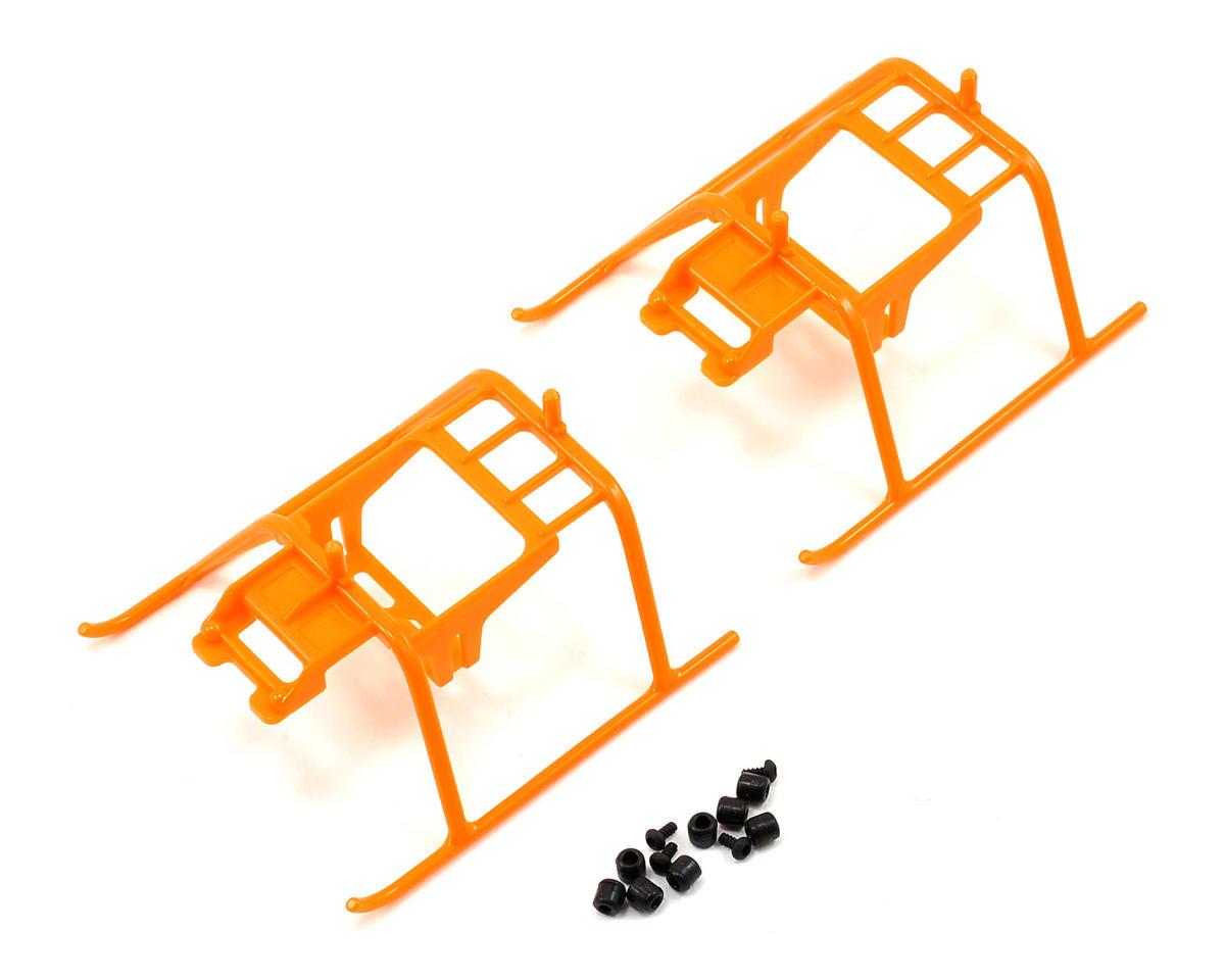 Align 150 Landing Skid Set (Orange) (2)