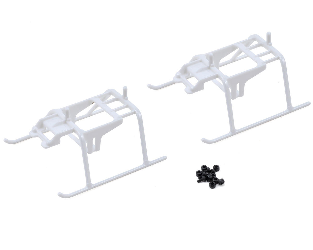 Align T-Rex 150 DFC Landing Skid Set (White) (2)