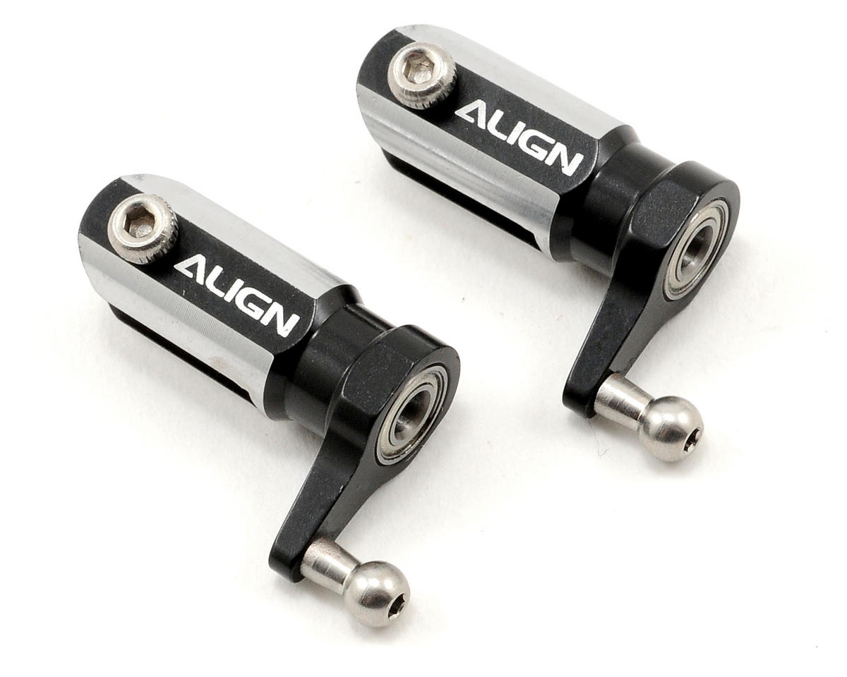 Align T-Rex 250 Metal Main Rotor Holder Set (Black)