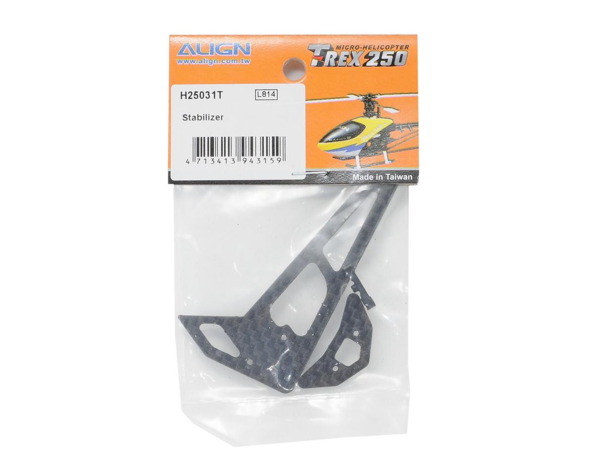 Align 250 Carbon Fiber Stabilizer Set