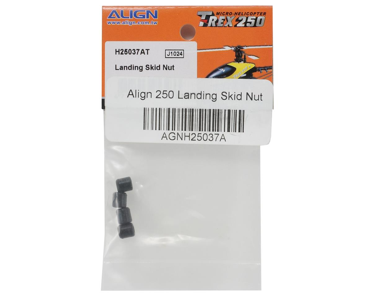 Align Landing Skid Nut Set (Black) (4)