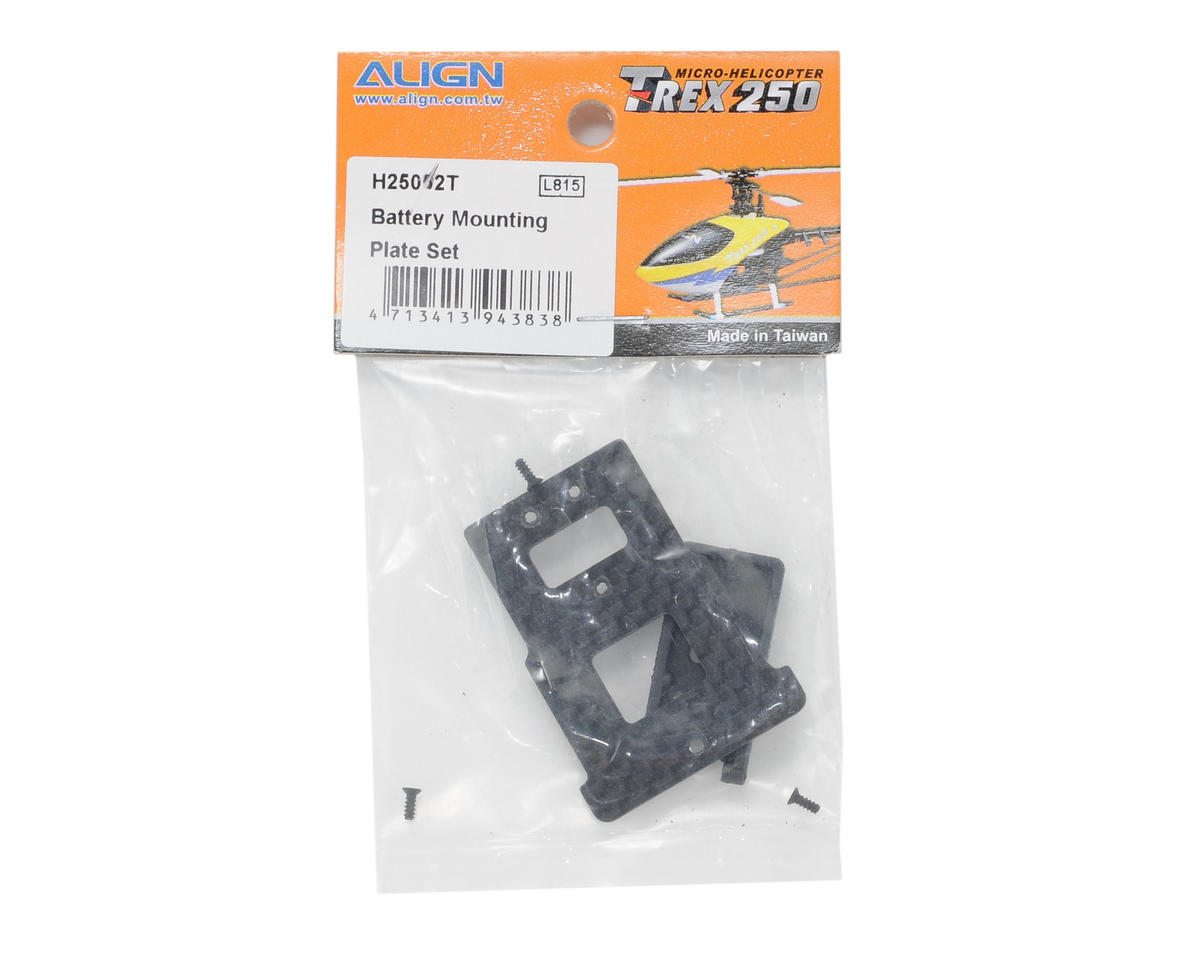 Align 250 Battery Mounting Plate Set