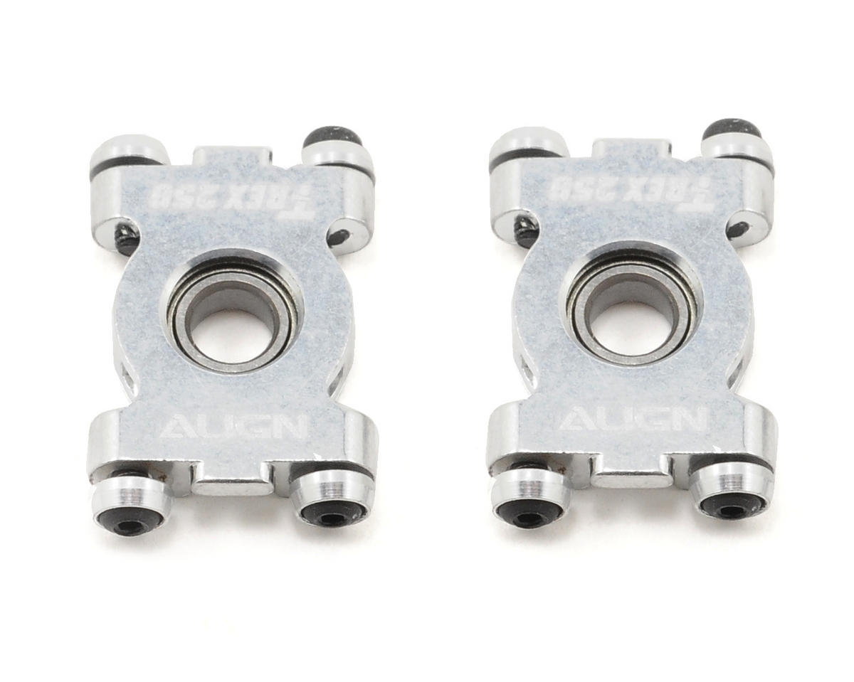 Align 250 Metal Main Shaft Bearing Block Set (2)