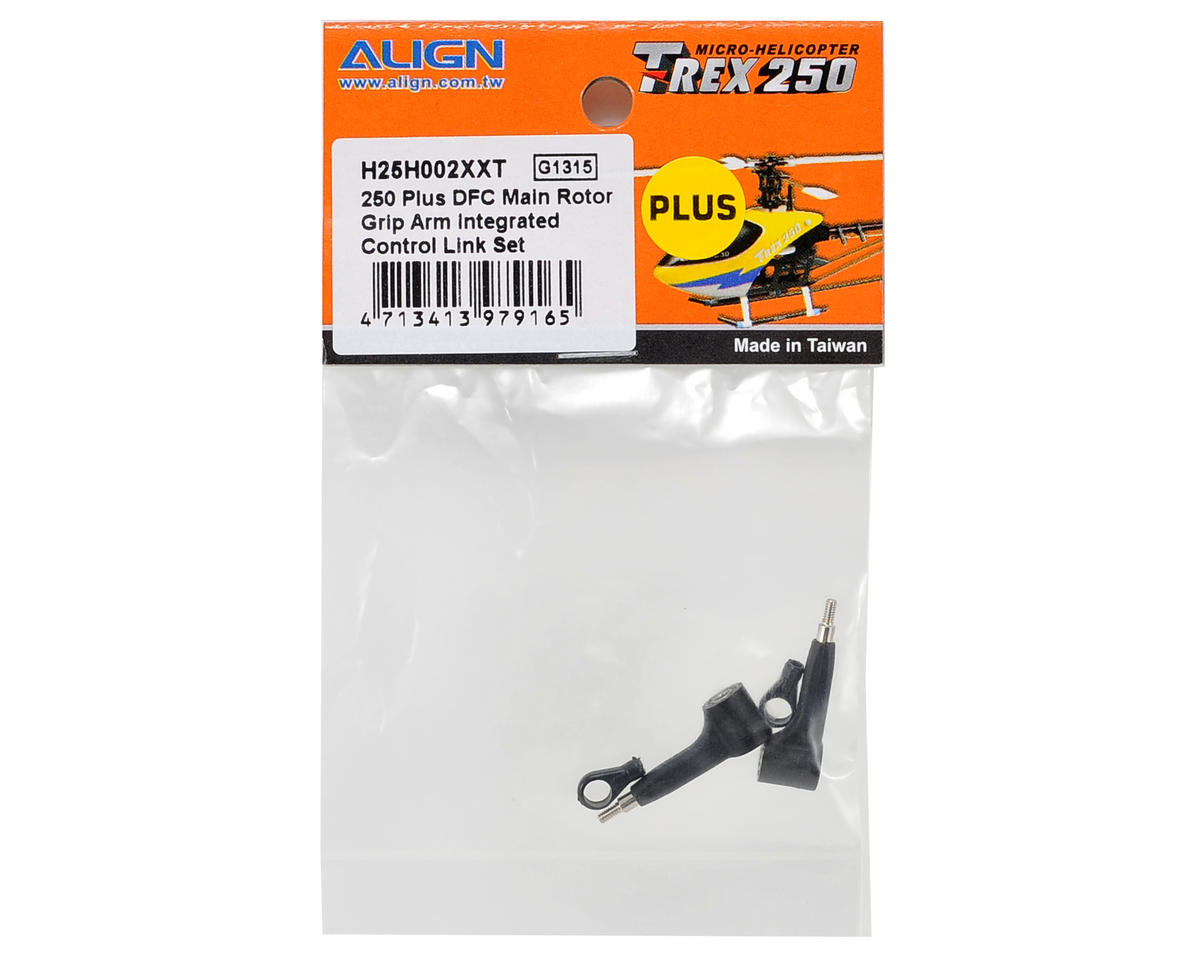 Align 250 Plus DFC Main Rotor Grip Arm Integrated Control Link Set