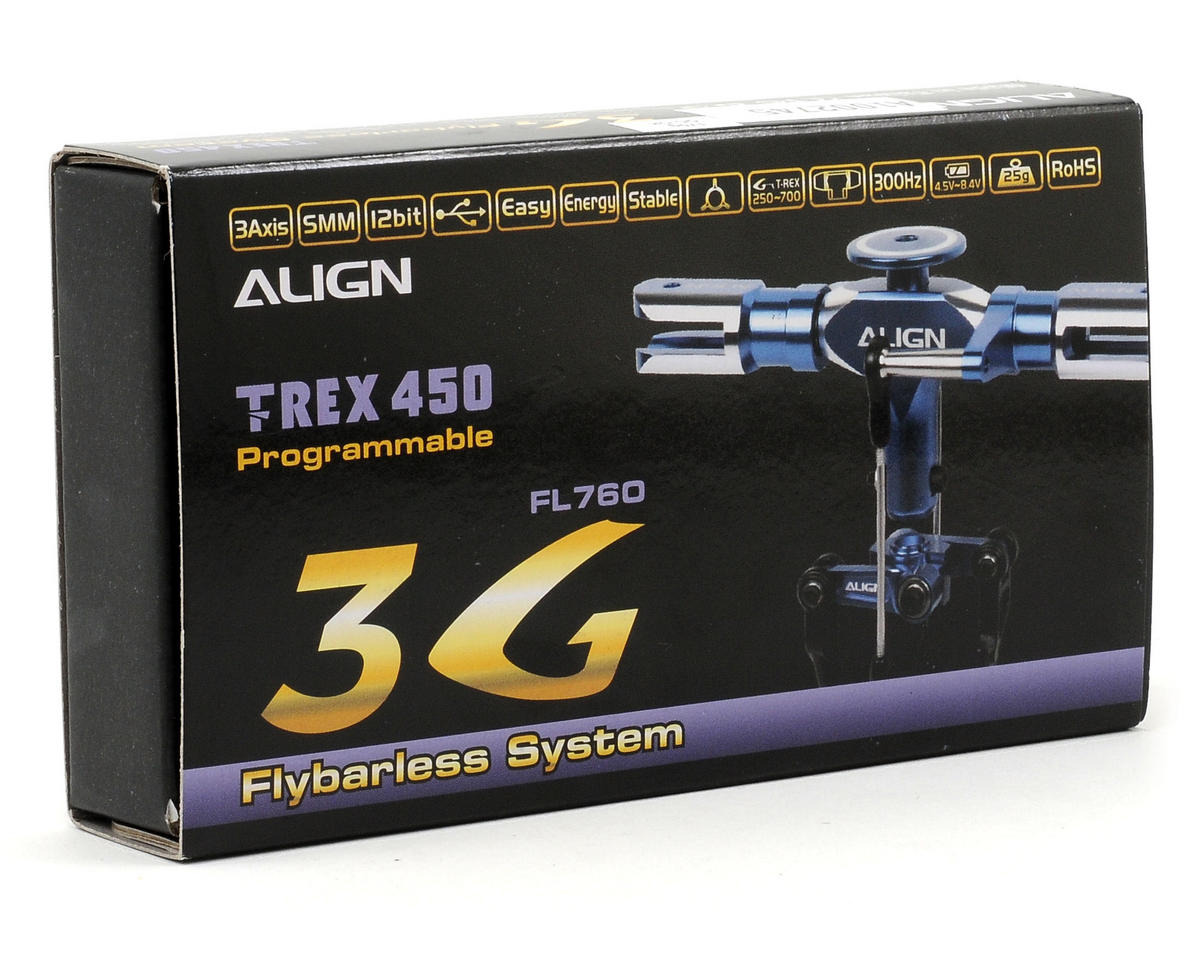 Align T-Rex 450 3G Flybarless System (Blue)