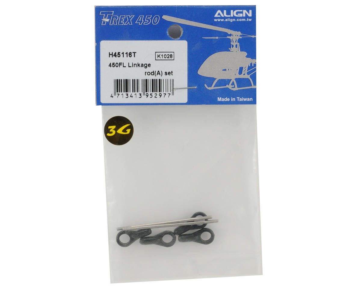Align 450FL Linkage Rod Set (2)