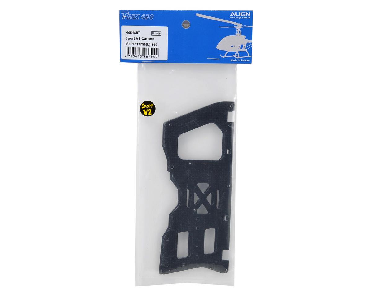 Align Sport V2 Carbon Main Frame Set (L)
