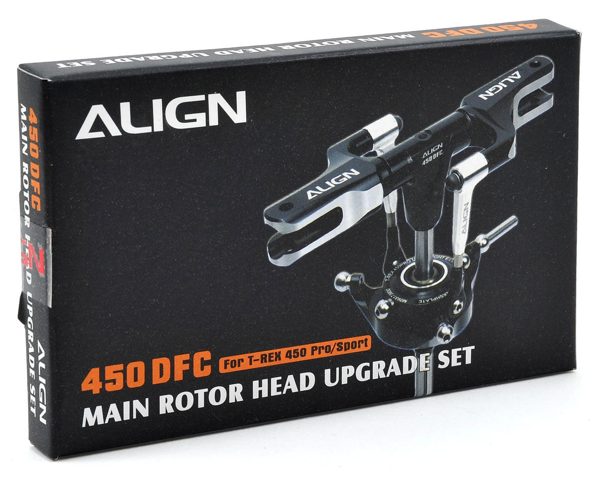 450DFC Main Rotor Head Upgrade Set (Black) by Align