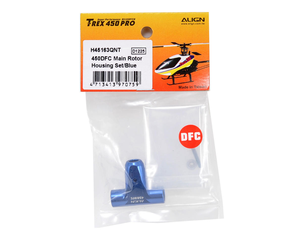 Align 450DFC Main Rotor Housing Set (Blue)