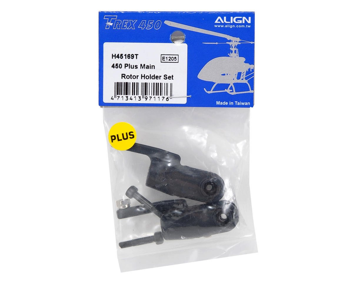 Align 450 Plus Main Rotor Holder Set