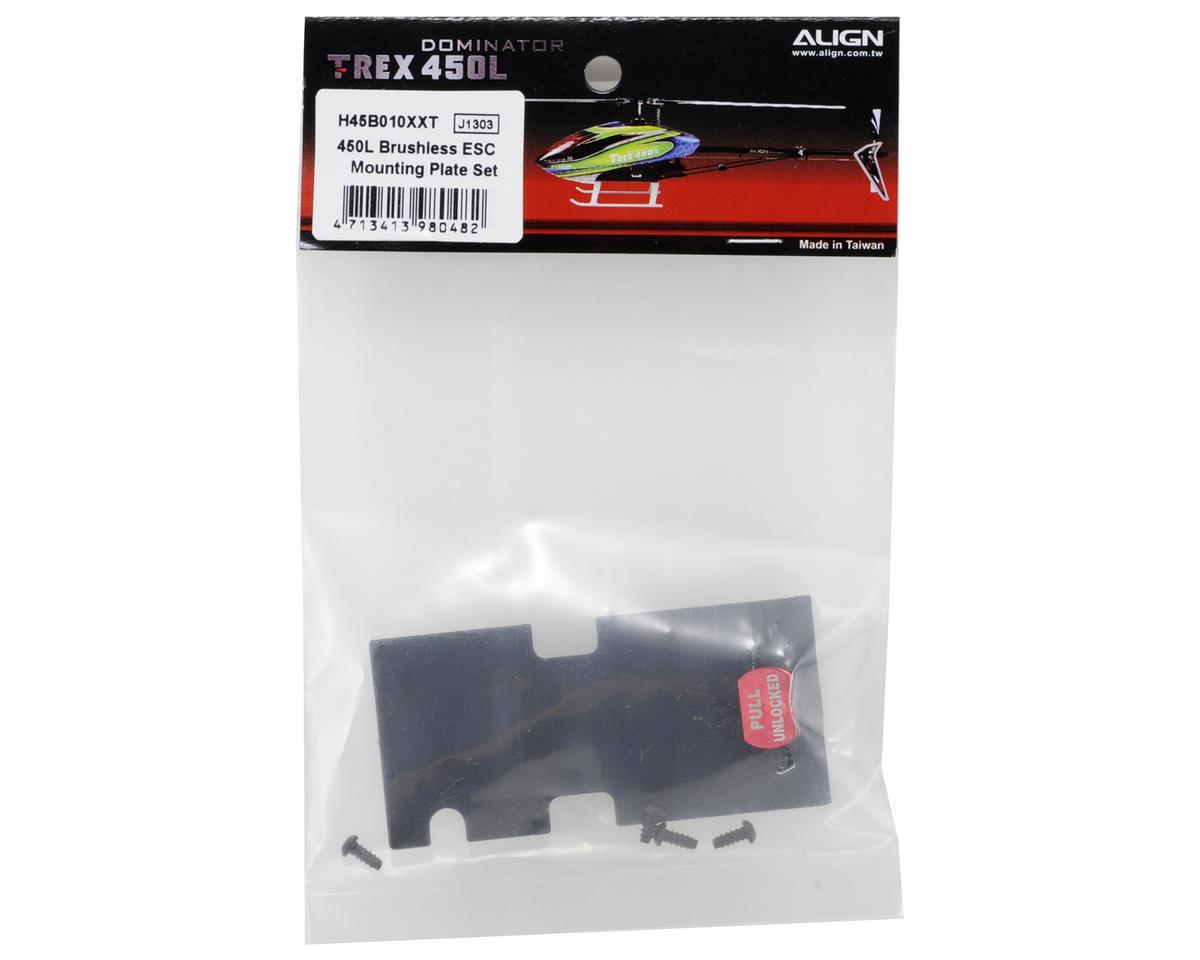 Align 450L Brushless ESC Mounting Plate Set