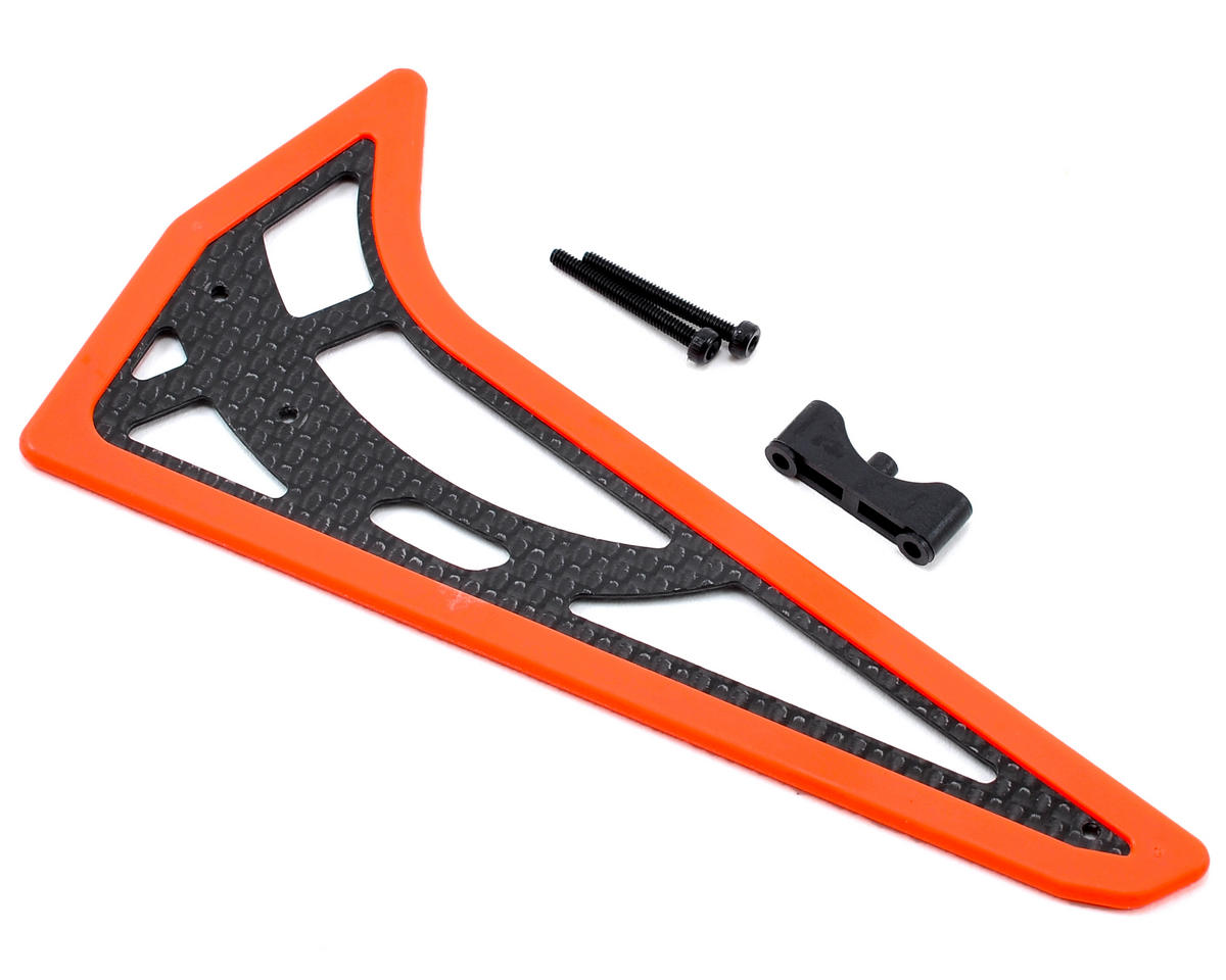 Align 450L Vertical Stabilizer (Fluorescent Orange)