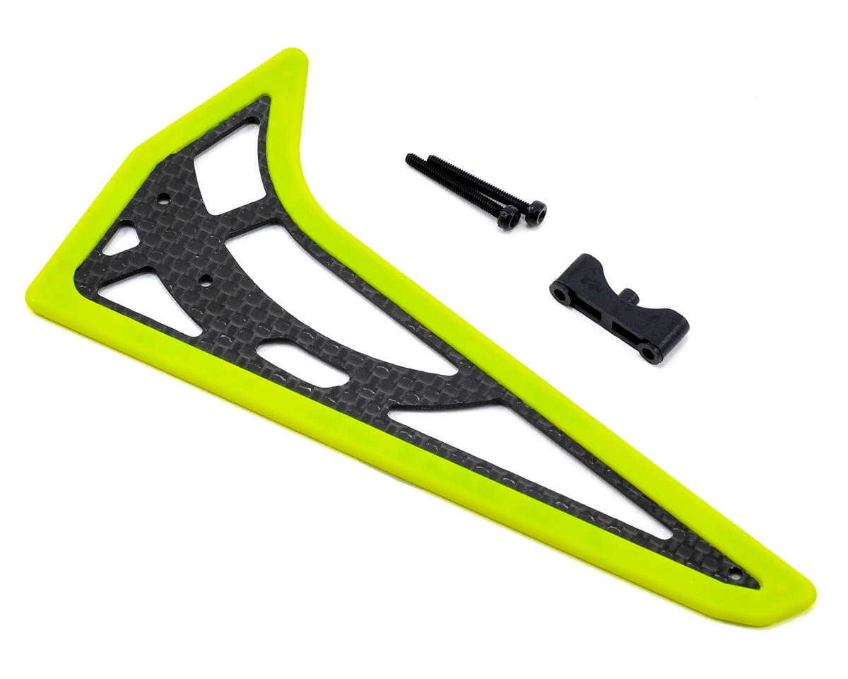 Align T-Rex 450 Pro V2 450L Vertical Stabilizer (Fluorescent Yellow)