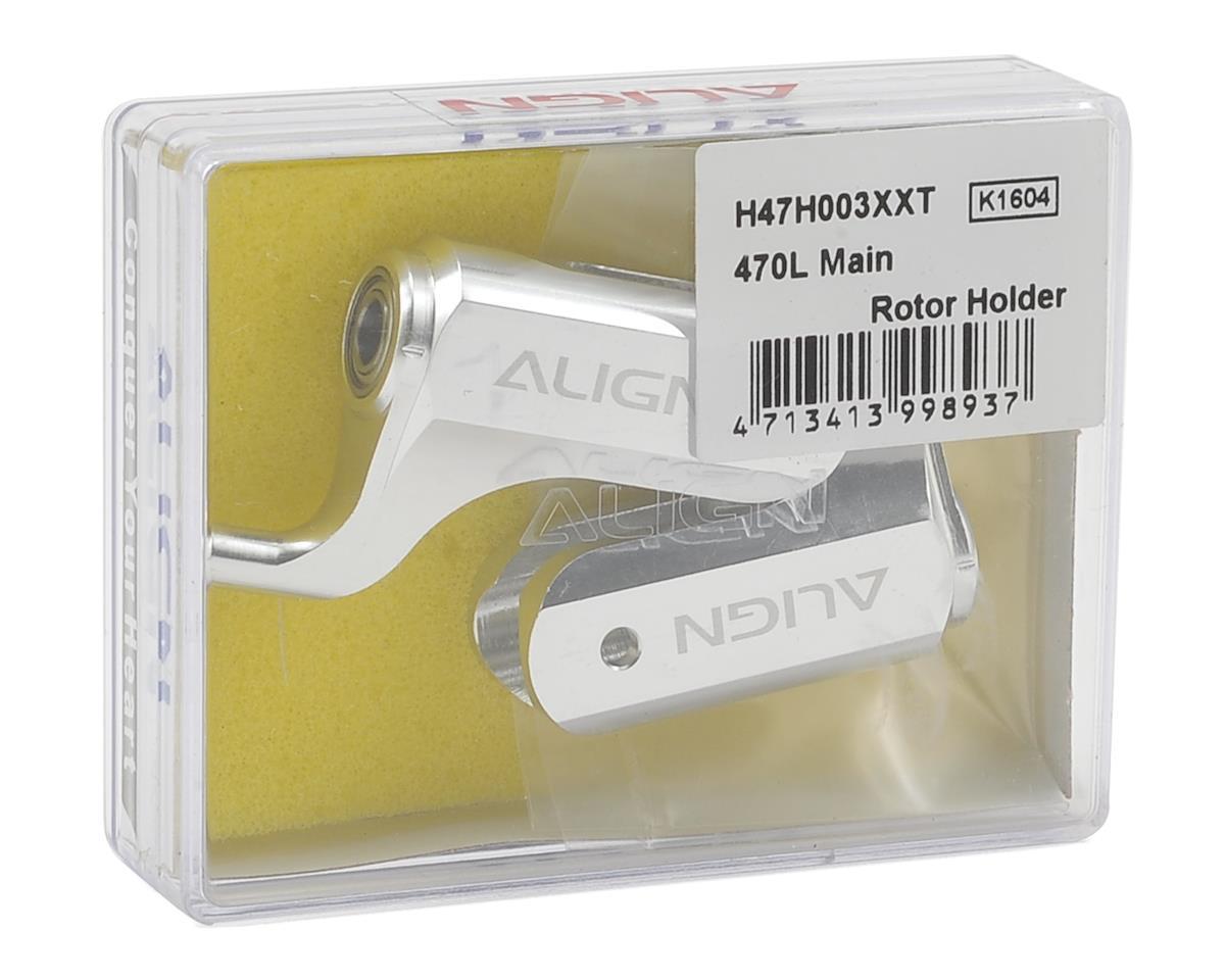 Align Aluminum Main Rotor Holder Set (2)