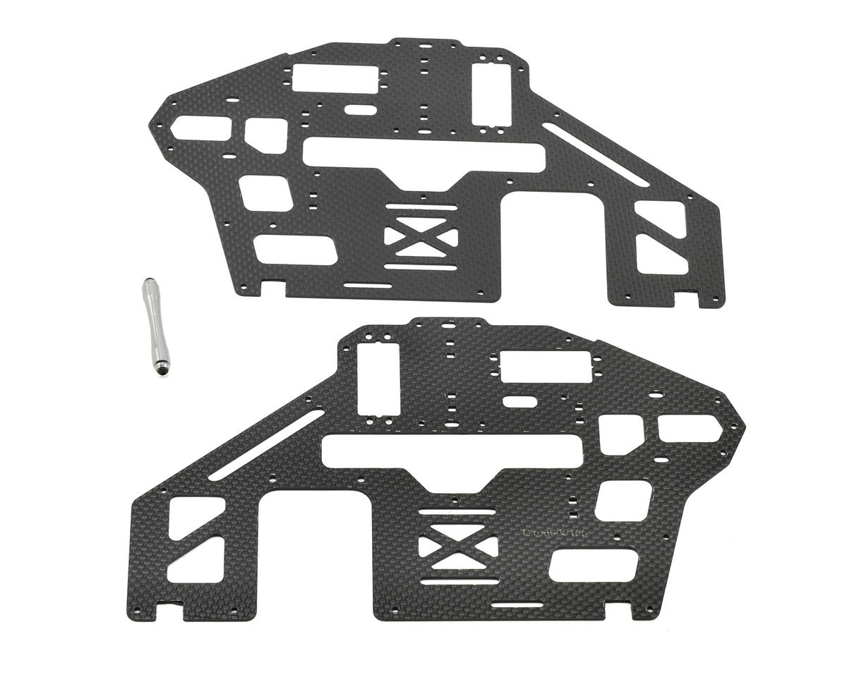 1.6mm Carbon Fiber Main Frame Set by Align