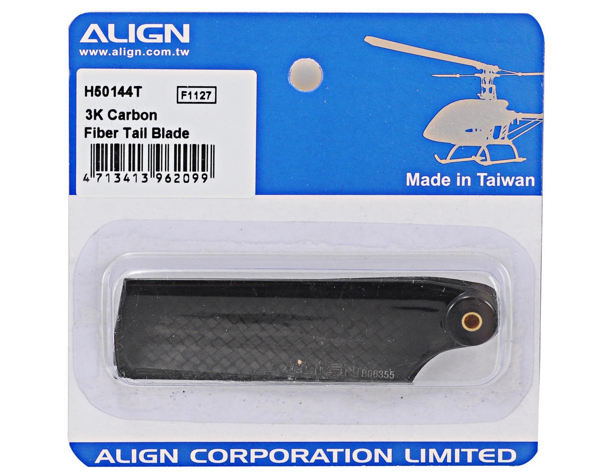 Align 500 3K Carbon Fiber Tail Blade Set (2)