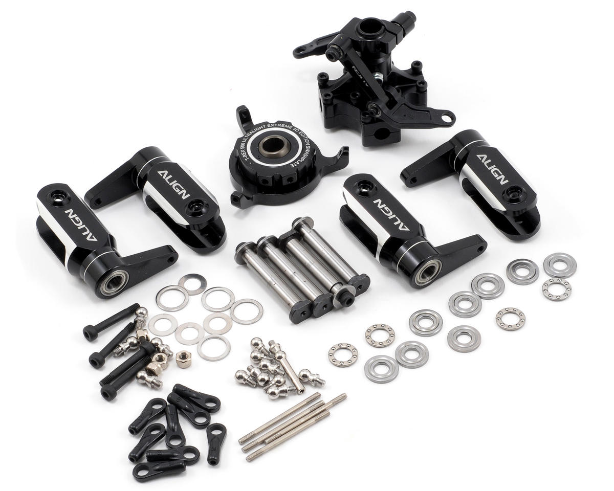 """Align 500 """"Four Blade"""" Flybarless Main Rotor Head Assembly"""