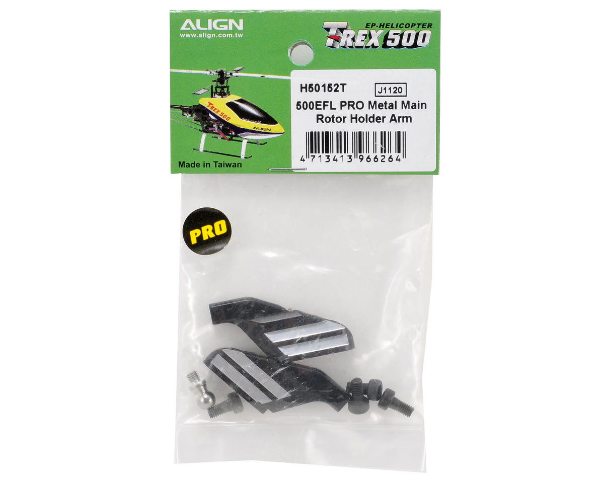 Align 500EFL PRO Metal Main Rotor Holder Arm Set