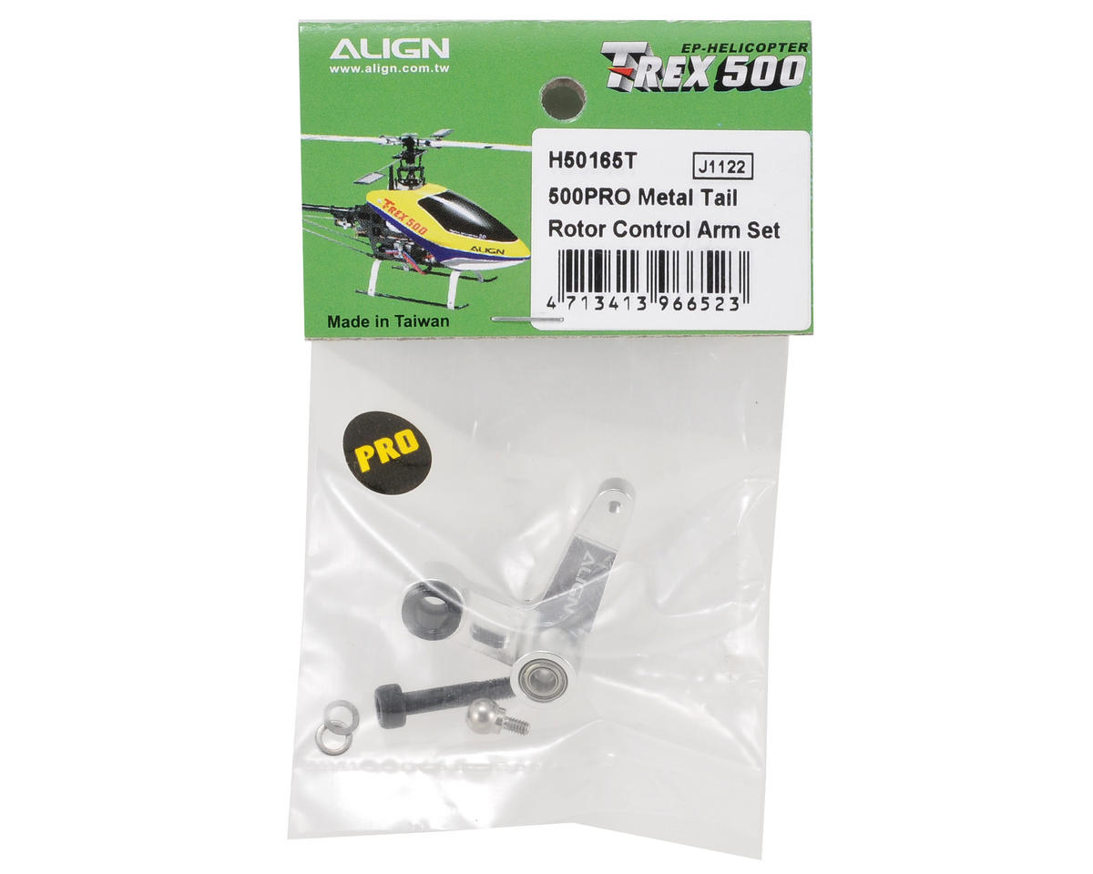 Align 500PRO Metal Tail Rotor Control Arm Set