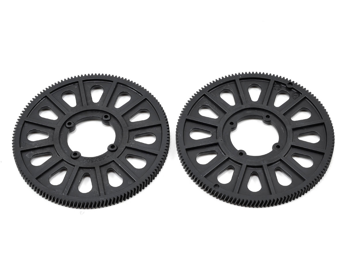 500 Slant Thread Main Drive Gear Set (2) (134T) by Align