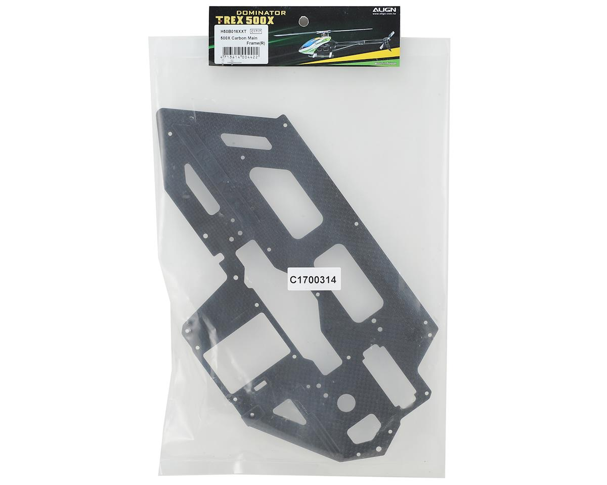 Align Carbon Fiber Main Frame (R) (T-Rex 500X)