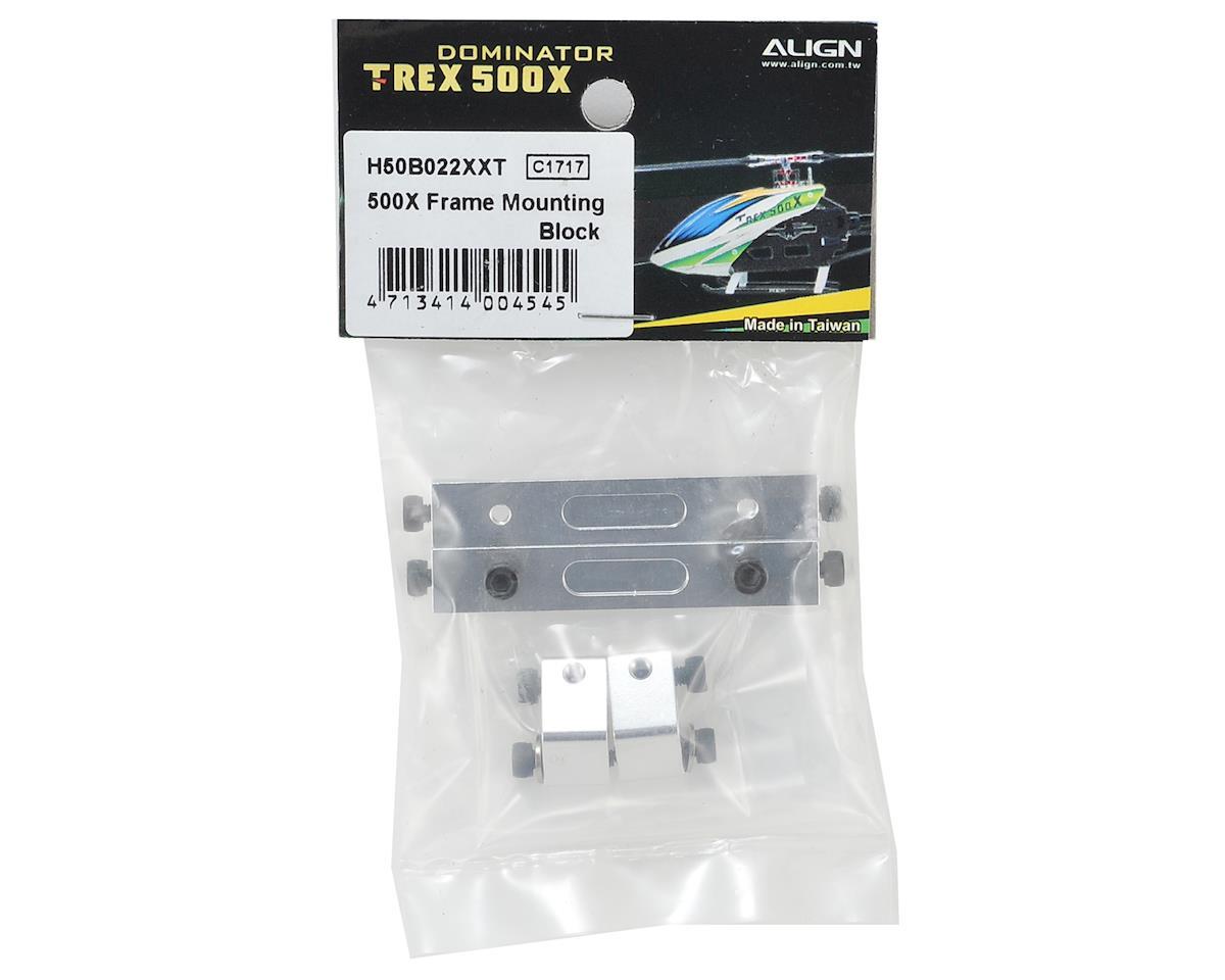 Align Frame Mounting Block Set (T-Rex 500X)