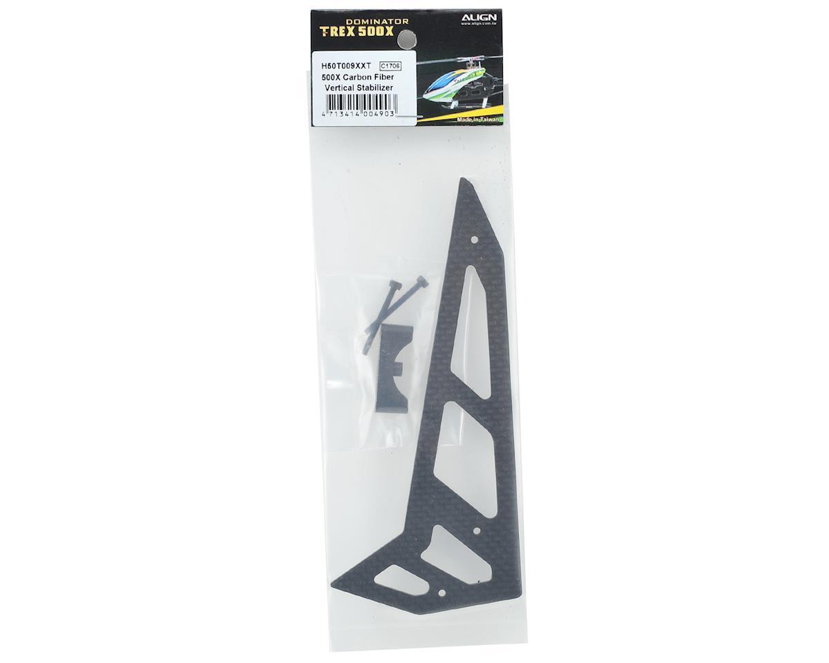 Align Carbon Fiber Vertical Stabilizer Fin (500X)