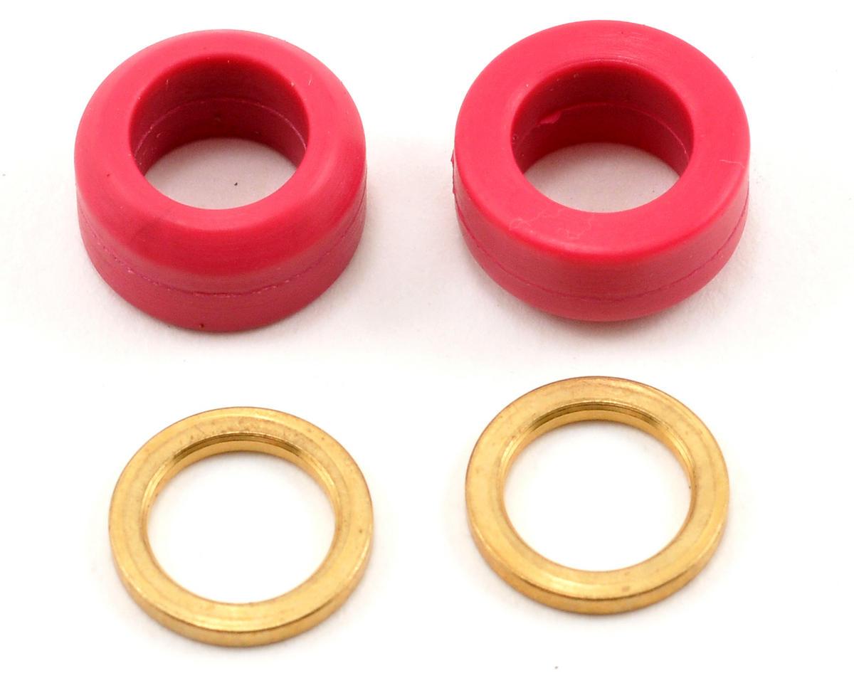Align 60 Durometer Rubber Damper Set (Red) (2)