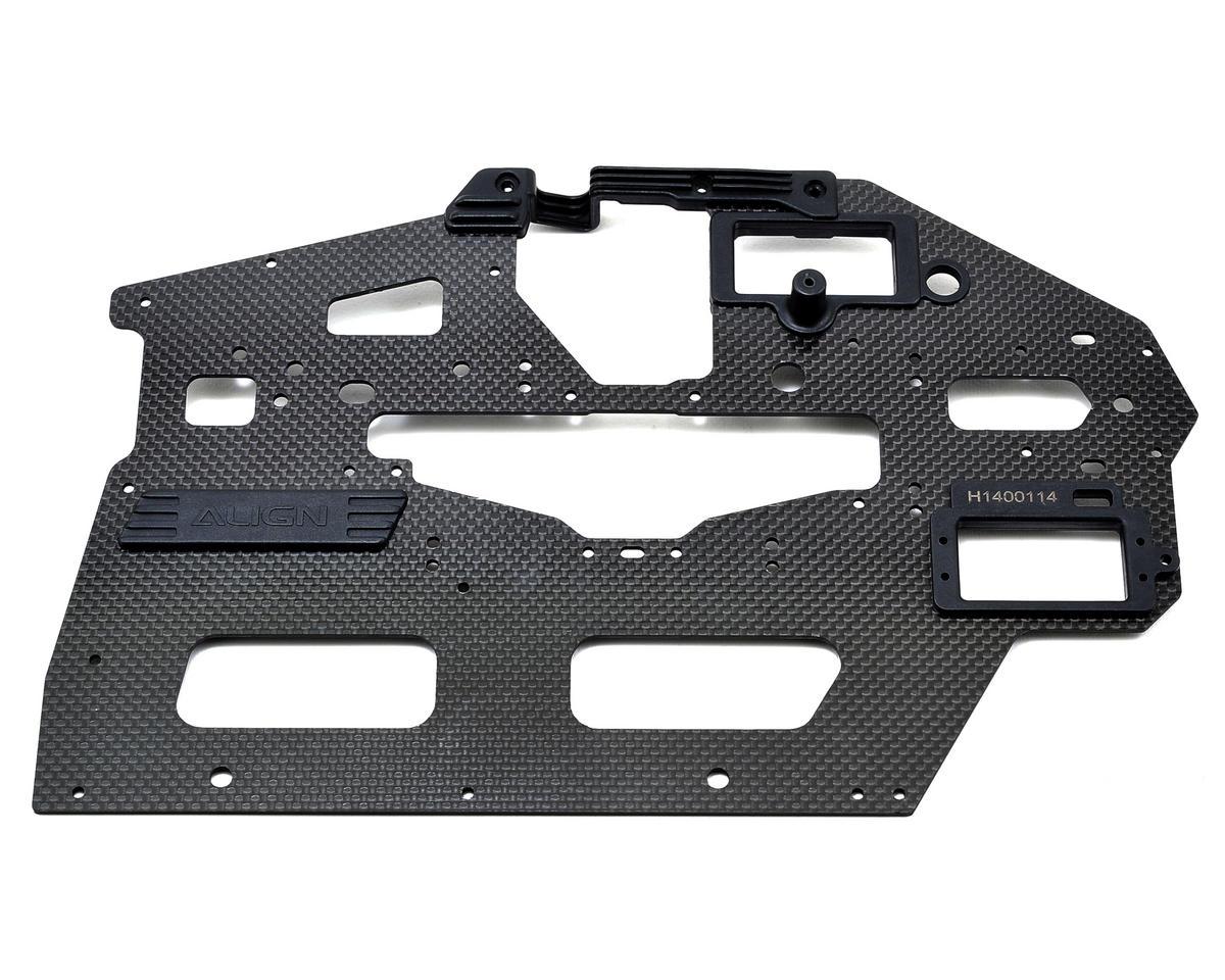 Align 550L 2.0mm Carbon Fiber Main Frame (Left)