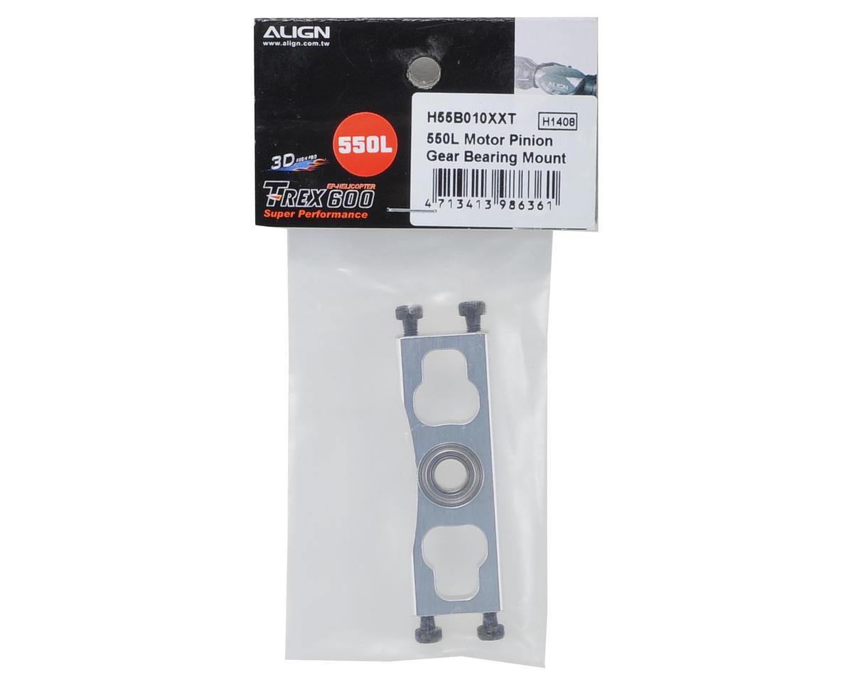 Align 550L Motor Pinion Gear Mount