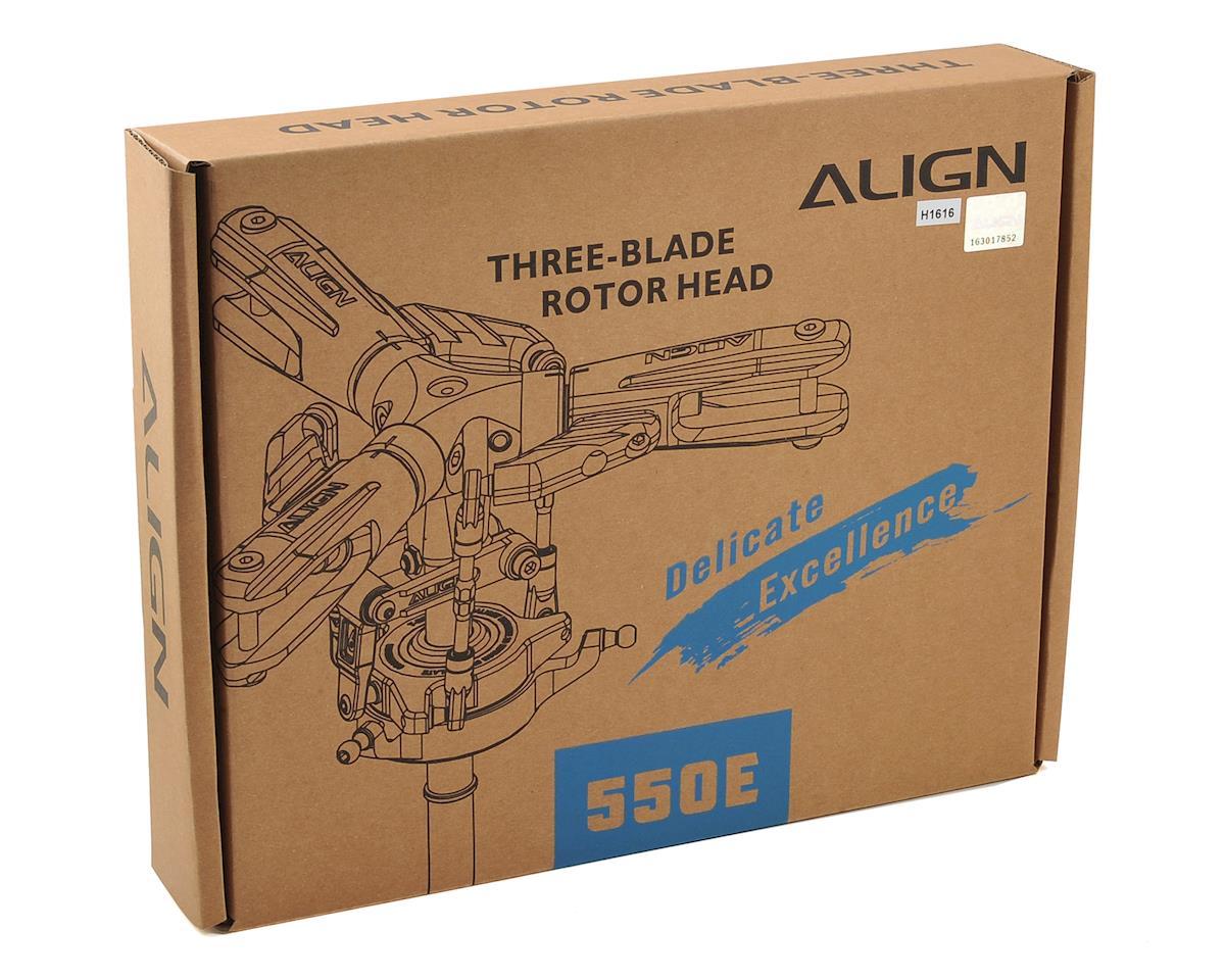 Align 550E Three-Blade Rotor Head