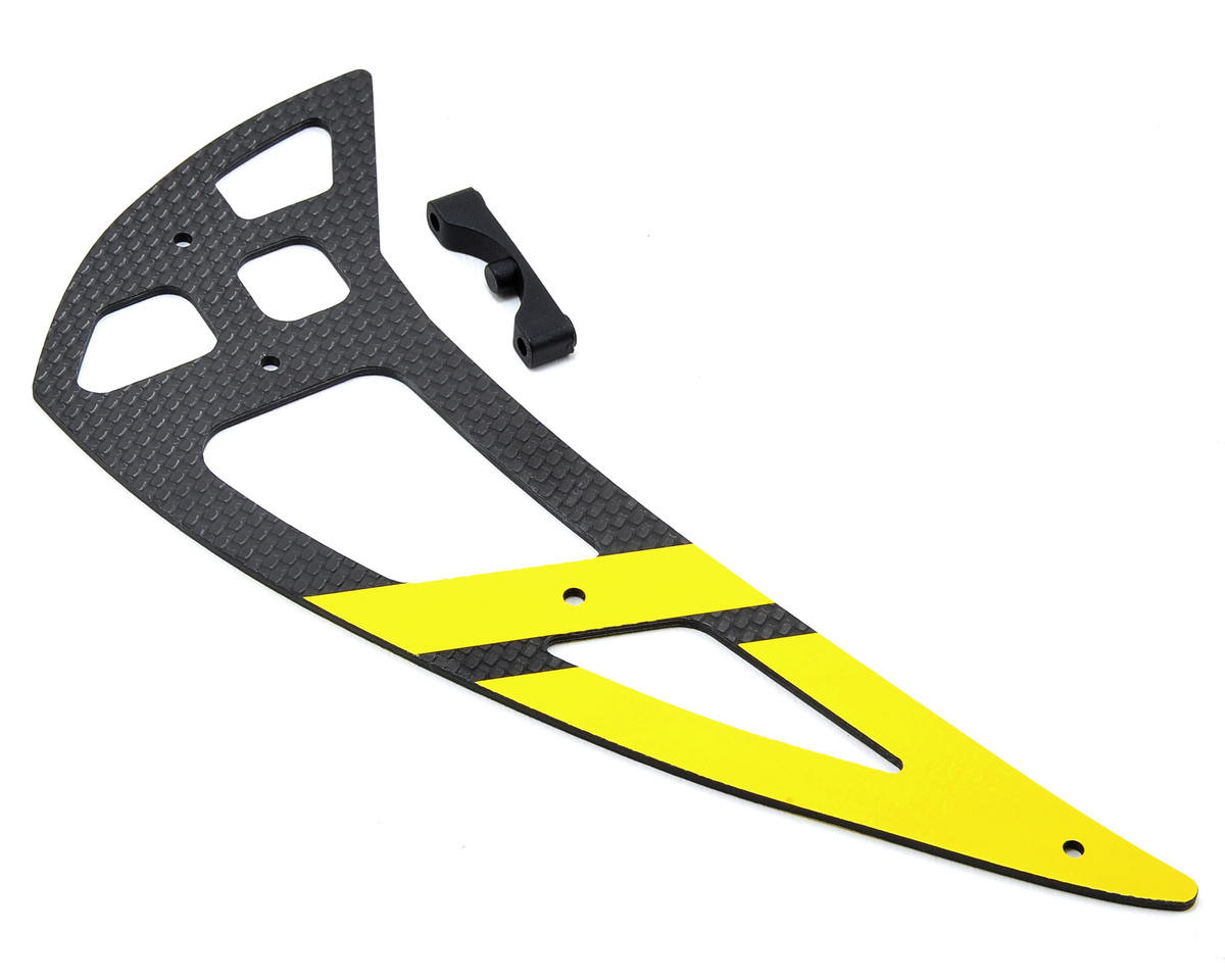 550L Carbon Fiber Vertical Stabilizer (Yellow) by Align