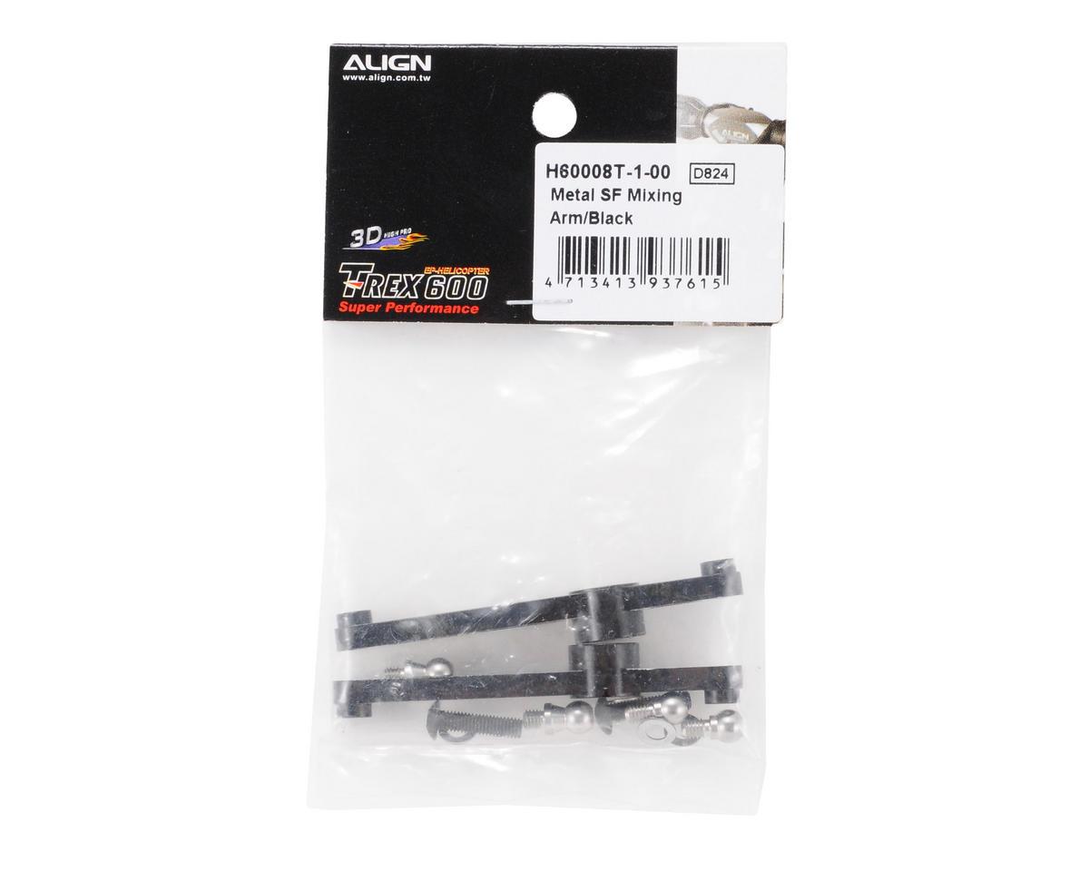 Align 600/600N Metal Sf Mixing Arm (Black)