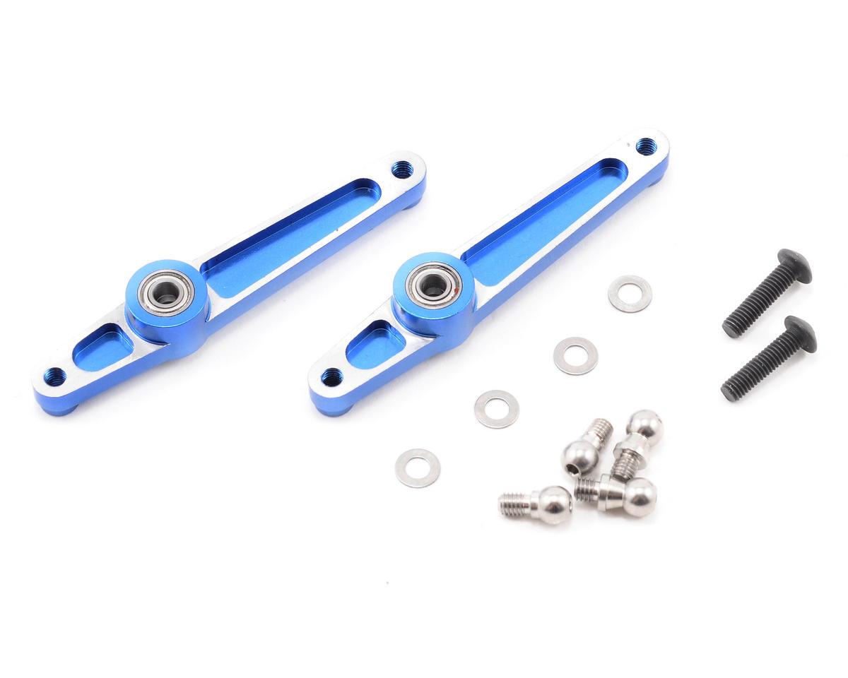 Align 600/600N Metal SF Mixing Arm Set (Blue)