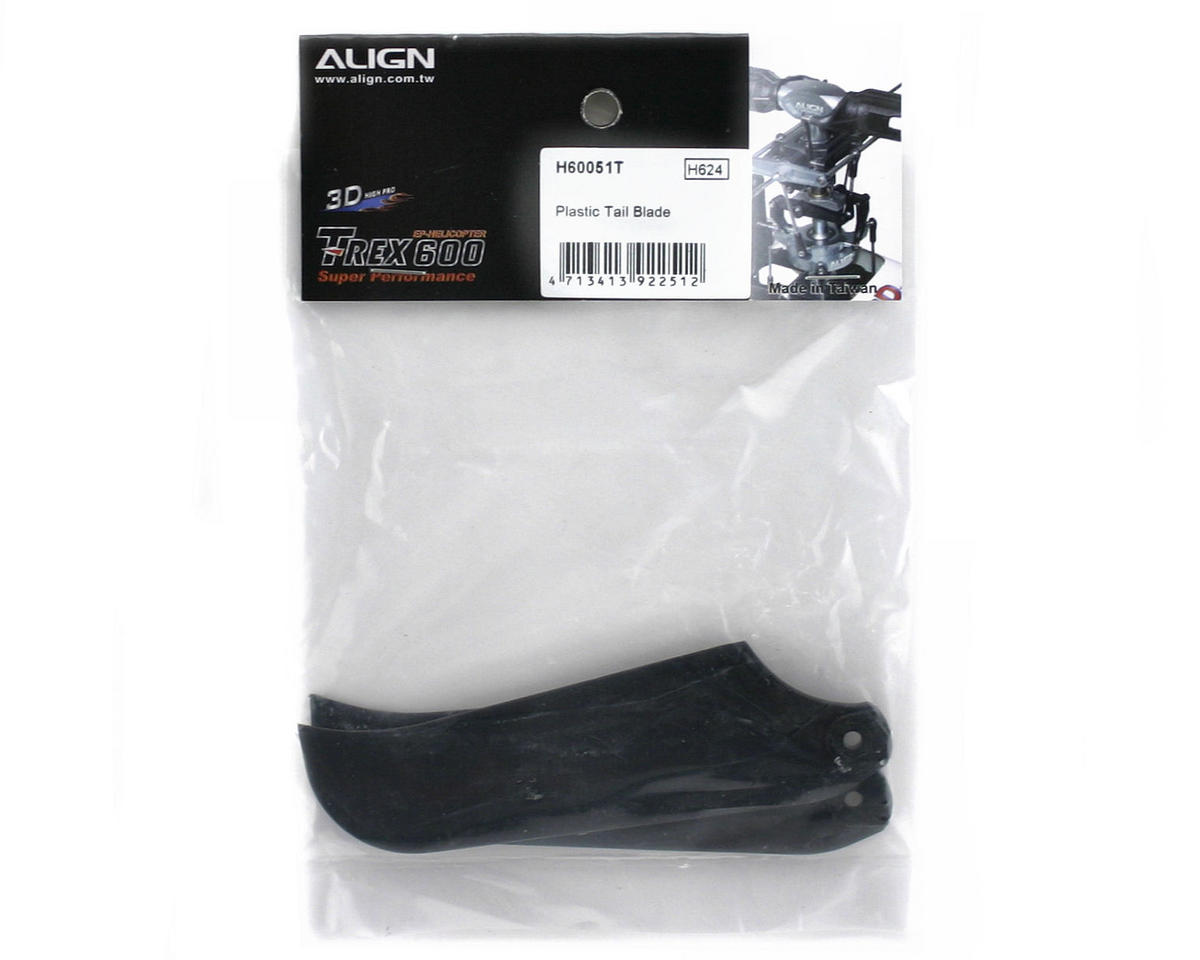 Align Plastic Tail Blade (600/600CF)